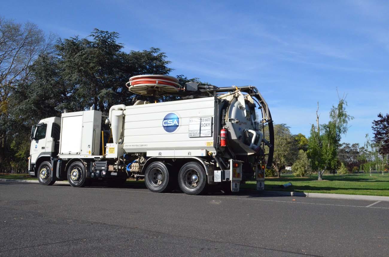 CSA Combination Truck