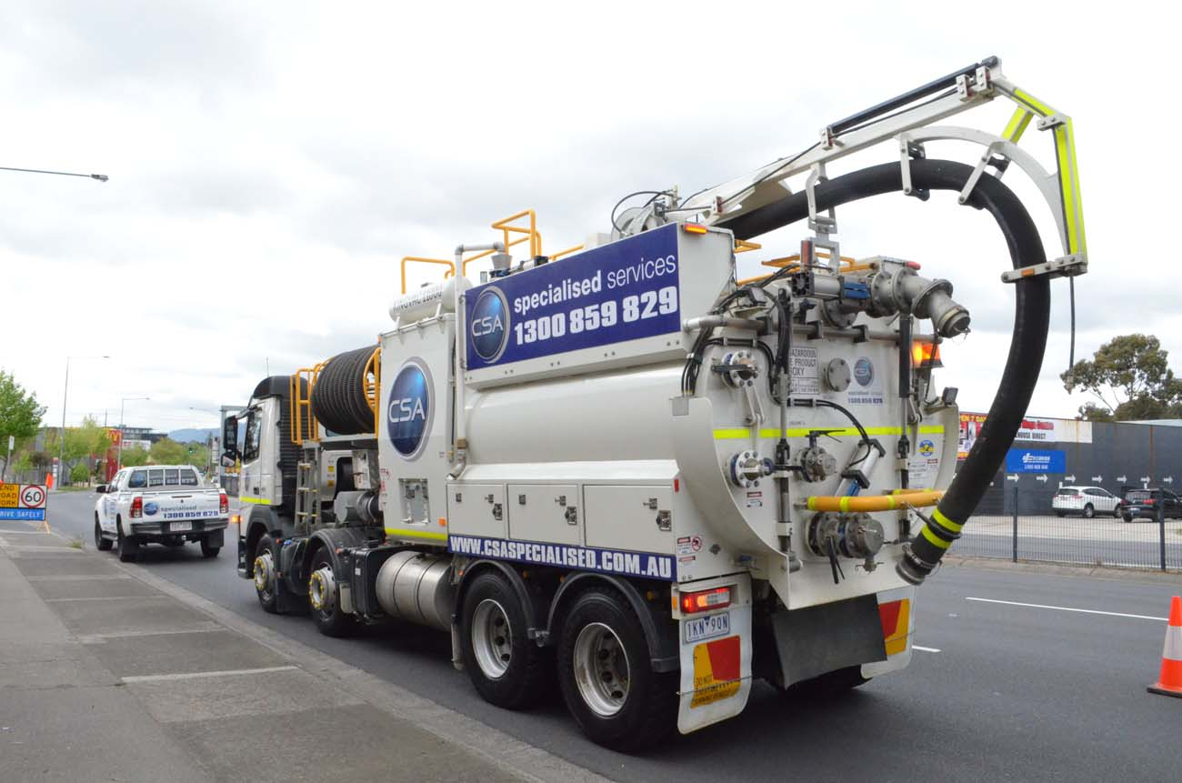 Heavy Vacuum Truck - CSA Specialised Services