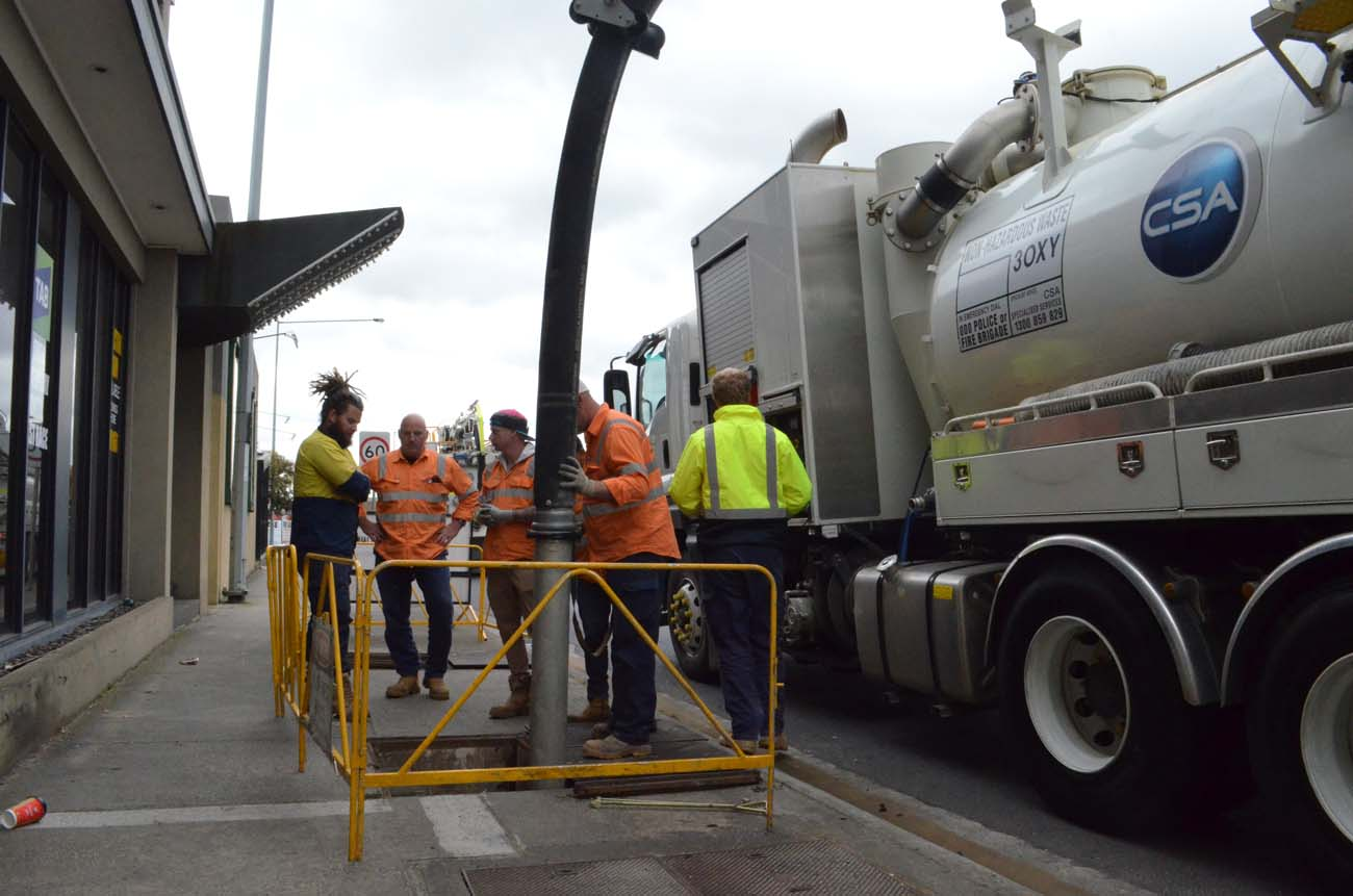 Vacuum Loading - CSA Specialised Services