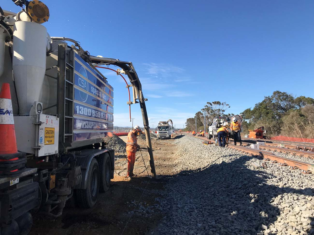 Non-Destructive Digging by CSA Specialised Services