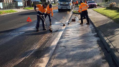 Thomastown oil spill emergency response