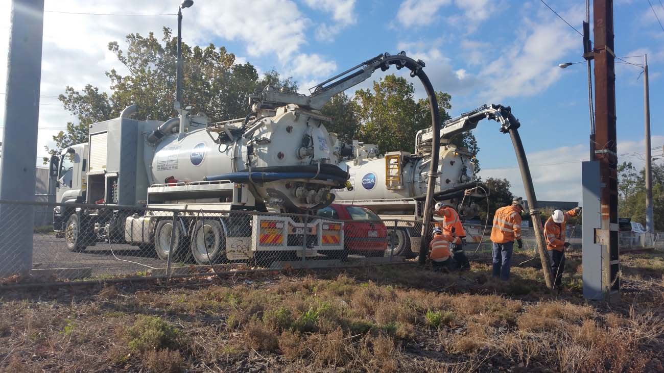 water main renewal in Fitzroy north