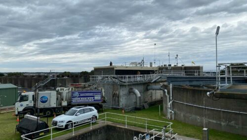 Warrnambool Sewage Treatment Plant Vacuum Loading by CSA Specialised Services